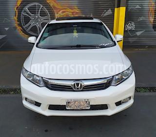 Honda Civic 1.8 EXS usado (2012) color Blanco Tafetta precio $800.000