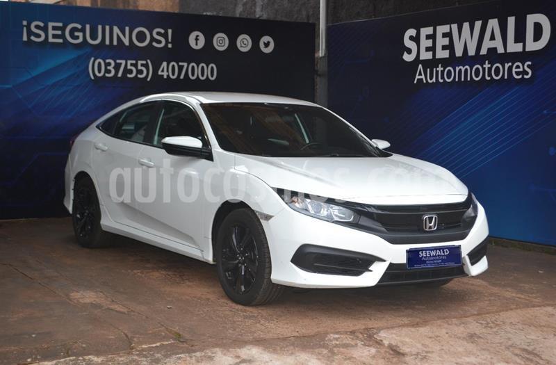 Honda Civic Ex 2.0 L/17 usado (2018) color Blanco precio $2.315.000
