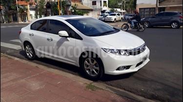 Honda Civic 1.8 EXS Aut usado (2013) color Blanco precio $555.000