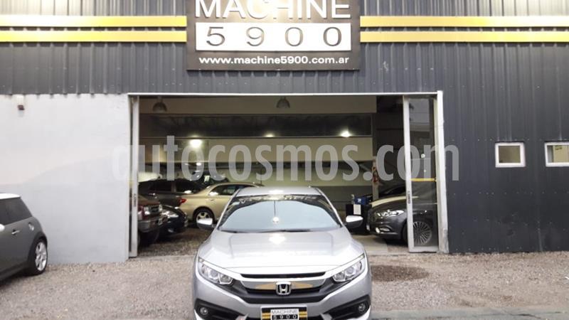 Honda Civic 2.0 EXL Aut usado (2017) color Gris Claro precio $2.300.000