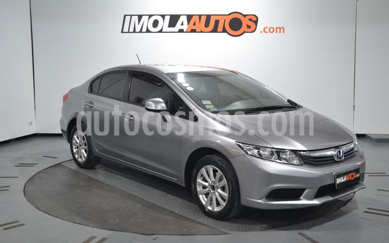 Honda Civic 1.8 LXS Aut usado (2013) color Gris precio $920.000
