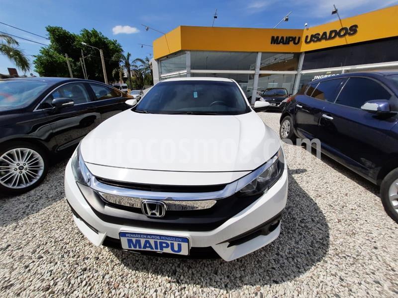 Honda Civic 1.7 EX  usado (2017) color Blanco precio $2.900.000