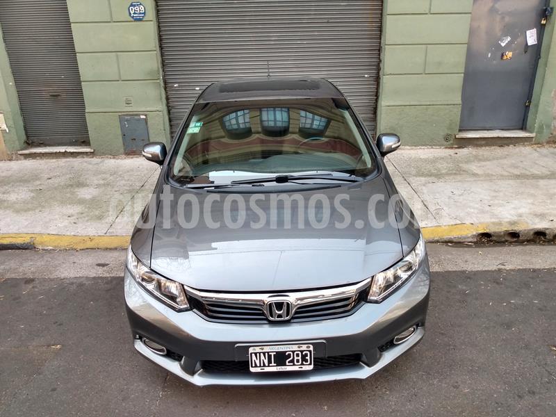Honda Civic 1.8 EXS usado (2014) color Gris precio u$s9.000