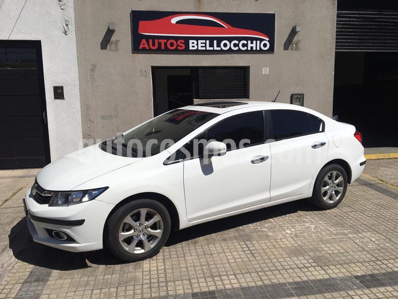 Honda Civic 1.8 EXS Aut usado (2012) color Blanco Tafetta precio $1.250.000