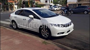 Honda Civic 1.8 EXS Aut usado (2013) color Blanco precio $590.000