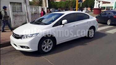 Honda Civic 1.8 EXS Aut usado (2013) color Blanco Tafetta precio $750.000