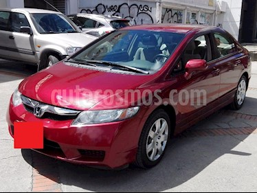 Honda Civic EX usado (2011) color Rojo precio $25.000.000
