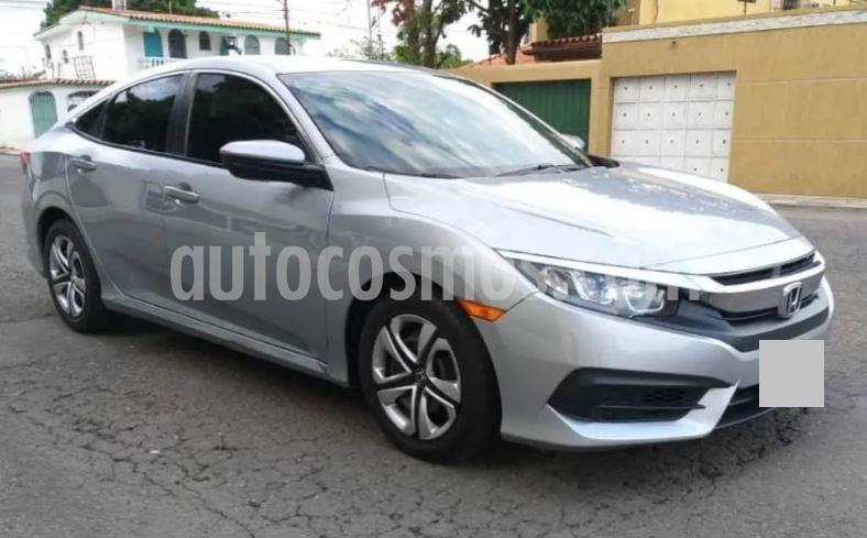 Honda Civic EXL-T usado (2016) color Plata precio $50.000.000