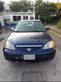 Foto venta Auto usado Honda Civic Coupe EX 1.7L Aut (2003) color Azul Electrico precio $62,000