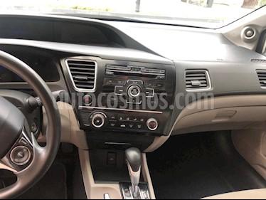 Foto Honda Civic Coupe EX 1.7L Aut usado (2013) color Blanco precio $165,000