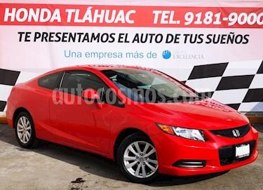 Foto venta Auto usado Honda Civic Coupe EX 1.8L Aut (2012) color Rojo precio $150,000