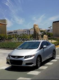 Foto Honda Civic Coupe EX 1.8L Aut usado (2013) color Gris Plata  precio $125,000