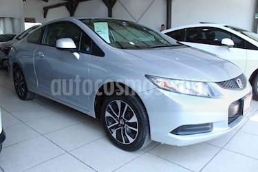 Foto venta Auto usado Honda Civic Coupe EX 1.8L Aut (2013) color Plata Diamante precio $185,000