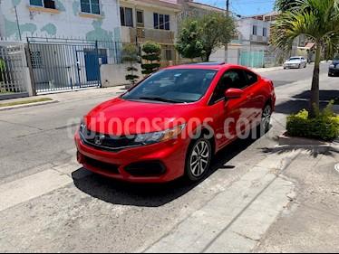 Foto venta Auto usado Honda Civic Coupe EX 1.8L Aut (2014) color Rojo precio $225,000