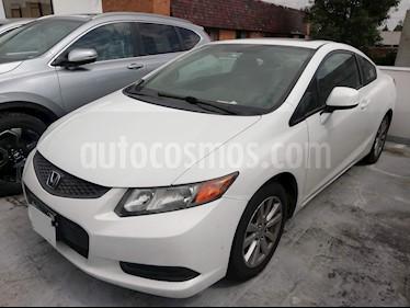 Foto venta Auto usado Honda Civic Coupe EX 1.8L Aut (2012) color Blanco Marfil precio $159,000