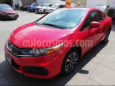 Foto venta Auto usado Honda Civic Coupe EX 1.8L Aut (2014) color Rojo precio $189,000