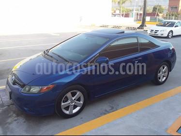 Foto venta Auto usado Honda Civic Coupe EX 1.8L Aut (2007) color Azul Electrico precio $89,000
