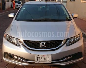 Honda Civic Coupe EX 1.8L usado (2015) color Gris precio $165,500