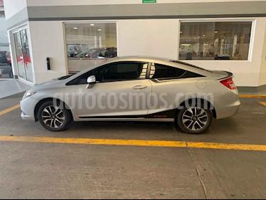 Foto venta Auto usado Honda Civic Coupe EX 1.8L (2013) color Plata precio $165,000