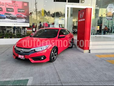 Foto venta Auto usado Honda Civic Coupe EX 1.8L (2018) color Rojo precio $384,900