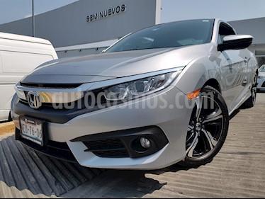 Foto venta Auto usado Honda Civic Coupe Turbo Aut (2017) color Plata Lunar precio $330,000