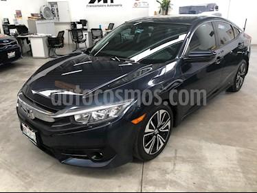 Honda Civic Coupe Turbo Aut usado (2017) color Azul precio $275,000