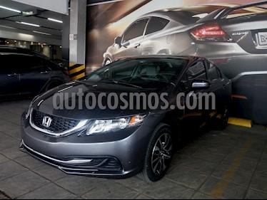 Foto venta Auto usado Honda Civic EX 1.7L Aut (2015) color Acero precio $275,000