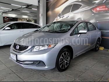 Foto venta Auto usado Honda Civic EX 1.7L Aut (2015) color Plata precio $205,000
