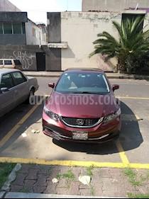 Honda Civic EX 1.7L Aut usado (2015) color Rojo precio $205,000