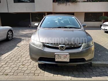 Foto venta Auto usado Honda Civic EX 1.7L Aut (2008) color Gris Oscuro precio $95,000