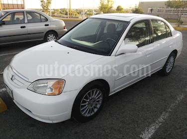 Foto venta Auto usado Honda Civic EX 1.7L Aut (2002) color Blanco precio $67,500