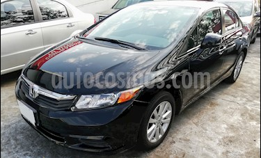 Foto venta Auto usado Honda Civic EX 1.8L Aut (2012) color Negro precio $160,000