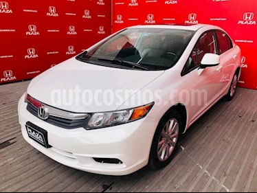 Foto venta Auto usado Honda Civic EX 1.8L Aut (2012) color Blanco precio $189,500