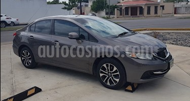 Foto venta Auto Seminuevo Honda Civic EX 1.8L Aut (2013) color Tungsteno precio $175,000