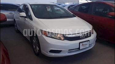 Foto venta Auto usado Honda Civic EX 1.8L Aut (2012) color Blanco precio $154,000