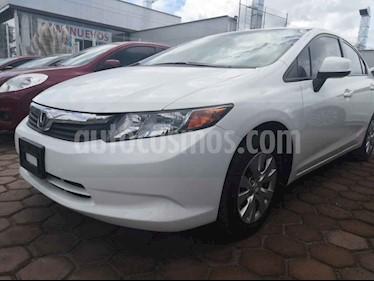 Foto venta Auto usado Honda Civic EX 1.8L Aut (2012) color Blanco precio $156,000