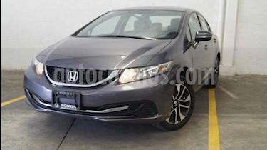 Foto venta Auto usado Honda Civic EX 1.8L Aut (2014) color Blanco precio $195,000