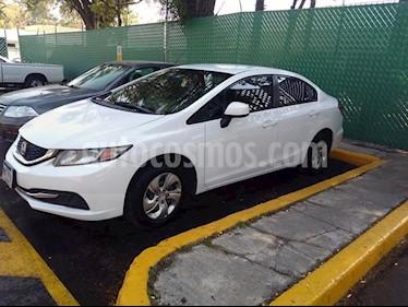 Foto Honda Civic EX 1.8L Aut usado (2013) color Blanco precio $148,500