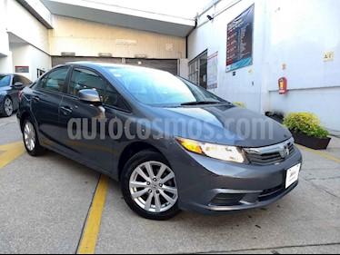 Foto venta Auto usado Honda Civic EX 1.8L Aut (2012) color Cafe precio $155,000