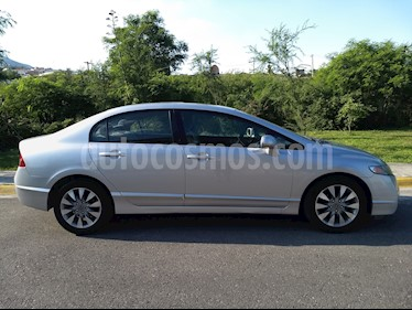 Honda Civic EX 1.8L Aut usado (2010) color Plata precio $123,000