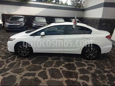 Foto venta Auto usado Honda Civic EX 1.8L Aut (2013) color Blanco precio $160,500