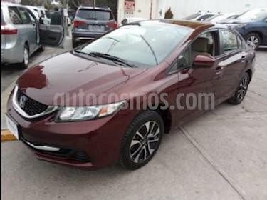 Foto venta Auto Seminuevo Honda Civic EX 1.8L Aut (2014) color Vino Tinto precio $190,000