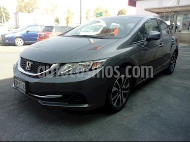 Foto venta Auto usado Honda Civic EX 1.8L (2013) color Antracita precio $180,000