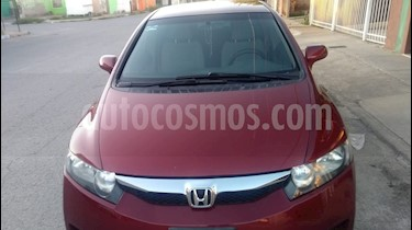 Honda Civic EX 1.8L usado (2010) color Rojo precio $100,000