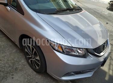 Honda Civic EX 1.8L usado (2014) color Plata precio $172,900