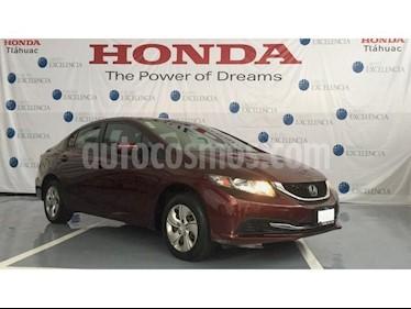 Foto venta Auto Seminuevo Honda Civic EX 1.8L (2014) color Rojo Camelia