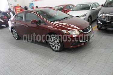 Foto venta Auto Seminuevo Honda Civic EX Aut (2015) color Vino Tinto precio $215,000
