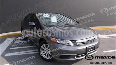 Foto venta Auto Seminuevo Honda Civic EX Aut (2012) color Gris