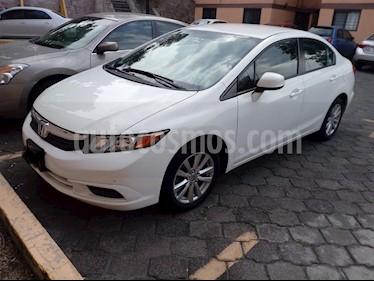Honda Civic EX Aut usado (2012) color Blanco Marfil precio $149,000