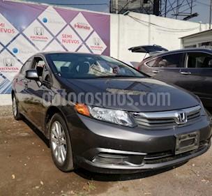 Foto venta Auto Seminuevo Honda Civic EX Aut (2012) color Antracita precio $165,000